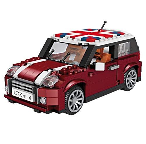 LOZ Mini Cooper inglés. Modelo a Escala 1:24 con minibloques