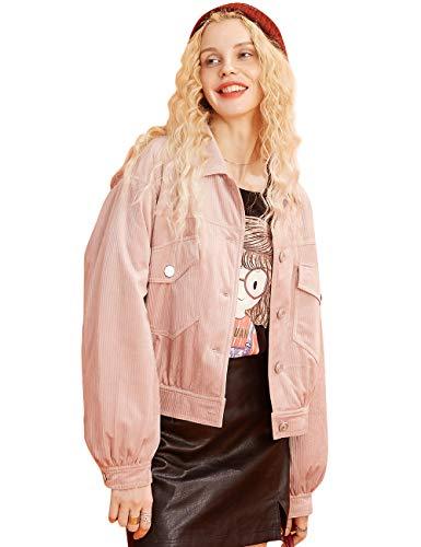 ELFSACK dames Solid wol mix winterjas korte overgangsjas feestelijke coat