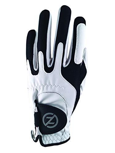 Zero Friction Kompressions-Golfhandschuhe für Männer, synthetische Golfhandschuhe in Einheitsgröße, Herren, GL00006, weiß, Einheitsgröße