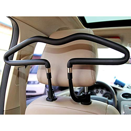BFRed Good Quality Metal Car Coat Hanger Auto Seat Headrest Clothes Jackets Suits Holder Robe Hook Car Accessories Practical Tools