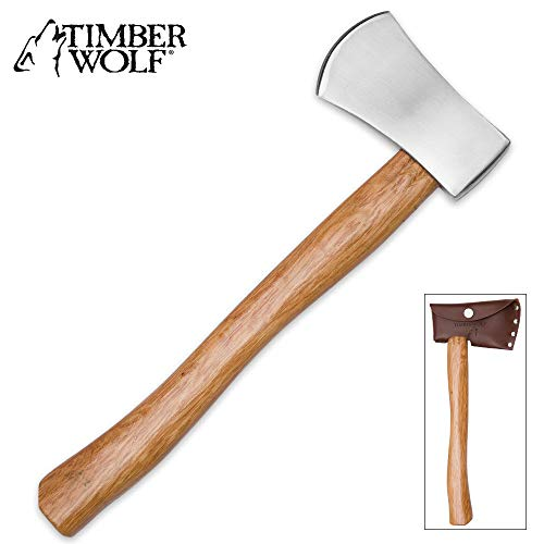 Timber Wolf Battle Throwing Axe