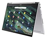 ASUS Chromebook Flip C436 2-in-1 Laptop, 14' Touchscreen FHD NanoEdge, Intel Core i3-10110U, 128GB...