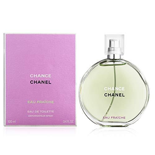 ChaneI Chance Eau Fraiche Eau de Toilette Women Spray 3.4 Fl. OZ. / 100ML.