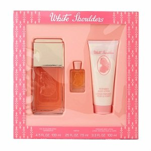 White Shoulders Fragrance Gift Set for Women, 3 pc