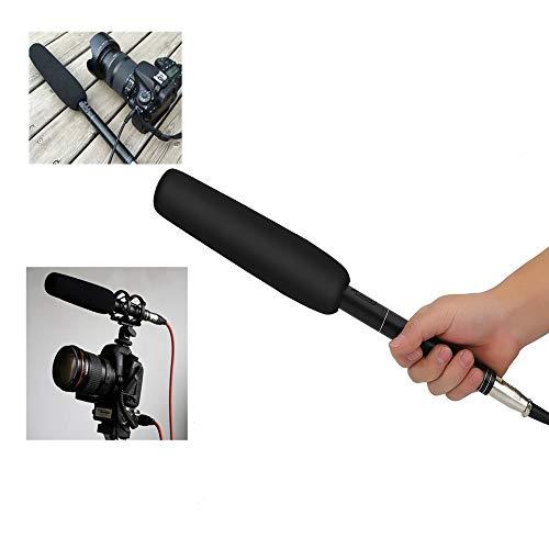 VbestLIFE 7 m unidirectionele condensatormicrofoon, professionele bekabelde microfoon, compatibel met DSLR-camera/camcorder/DV voor interview-spraakconferenties, televisie films
