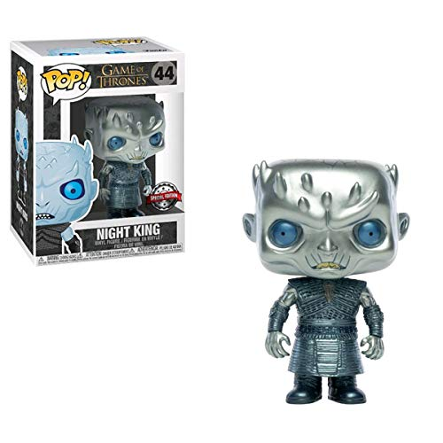 Funko Pop: Night King #44 (Metálico) - Game of Thrones (Exclusive)