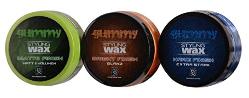 FONEX Styling Pack : Gummy Styling Wax Tapis Finition, finition Bright & rigide finition (je150 ml)
