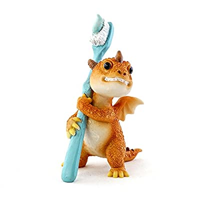 Top Collection Solar The Red Dragon - Mini Collectible Fantasy Figurine