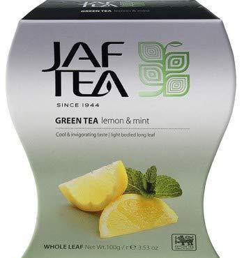 JAF TEA Grüner Tee - Zitrone & Minze - Karton