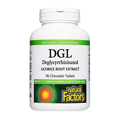 DGL - Deglycyrrhizinated Licorice Root Extract (400mg) 90 chews