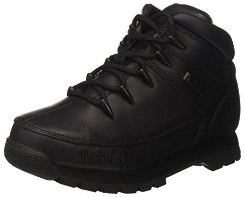 Timberland Unisex dziecięce Euro Sprint (młodzieżowe) klasyczne buty, Czarny pełny ziarna, 31 EU