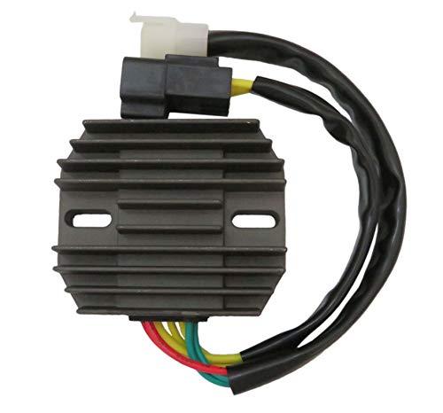 JEM&JULES Regulator Rectifier Voltage for Honda CBR 600 F4i 2001-2006/ CBR600RR F5 2003-2006/ CB900 CB919 2002-2007/ CBR900 CBR954 CBR929 2001-2003/ CBR1100XX 2001-2004/ NSS250 2001-2003/ VTX1300