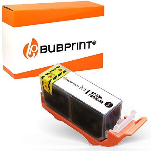 Bubprint Kompatibel Druckerpatrone als Ersatz für Canon PGI-525PGBK PGI 525 PGBK für Pixma IP4850 IP4950 IX6550 MG5150 MG5250 MG5350 MG6150 MG6250 MG8150 MG8250