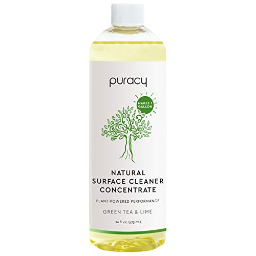 Puracy Multi-Surface Cleaner Concentrate, Household Natural All Purpose Cleaning Solution, Makes 1 Gallon