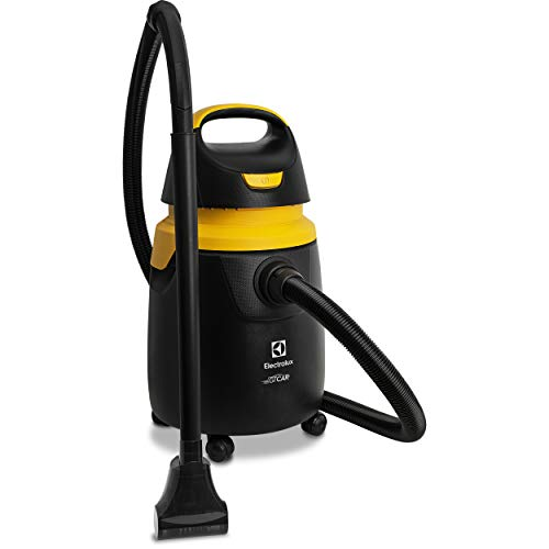 Aspirador de Água e Pó Electrolux Gtcar 1300W 110V, Preto com Detalhes em Amarelo