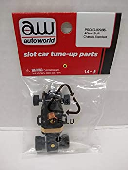 Auto World PSC4G-029 4Gear HO Scale Electric Slot Car Chassis
