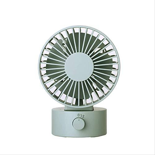 PANJIA Mini USB Powered Desk Fan,Battery Operated Fan,Portable Personal Fan for Desktop Office Home