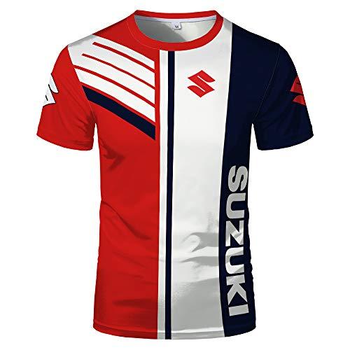 xiaosu 3D Voll Drucken T-Shirts Lang/Kurz T Zum Suzuki Herren Unisex Beiläufig Sweatshirt Lose / C1 / XXS