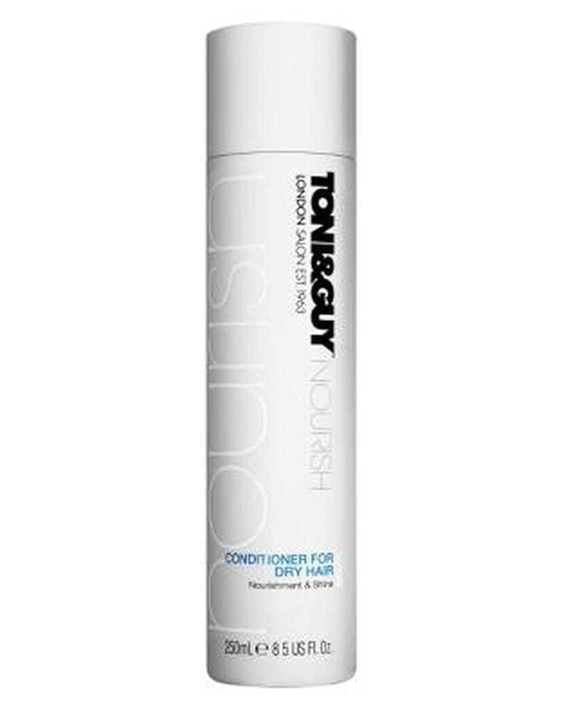 ショートリハーサルに賛成トニ&男は乾いた髪の250ミリリットルのためにコンディショナーを養います (Toni & Guy) (x2) - Toni&Guy Nourish Conditioner for Dry Hair 250ml (Pack of 2) [並行輸入品]