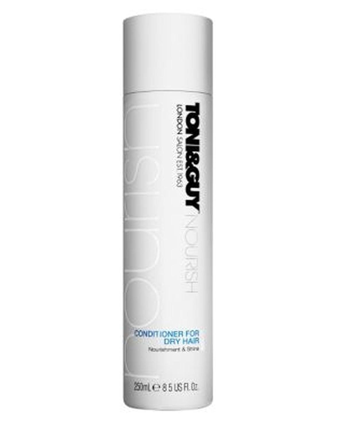 バイアスカスタム寝てるToni&Guy Nourish Conditioner for Dry Hair 250ml - トニ&男は乾いた髪の250ミリリットルのためにコンディショナーを養います (Toni & Guy) [並行輸入品]