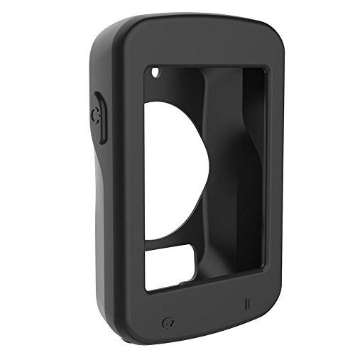 Everpert Schutzhülle für Garmin Edge 820 Radcomputer, Silikon Skin Tasche mit Display Schutz für Polar GPS Fahrrad Computer