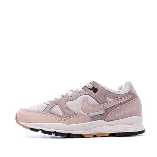 Nike W Air Span II, Zapatillas de Running Mujer, Multicolor (Vast Grey/Barely Ros 001), 39 EU
