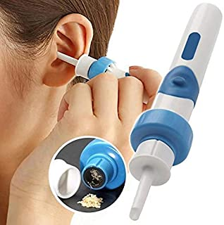 J.GH Automatic Ear Cleaner, Electric Vacuum Ear Wax Suction Device, Ear-Pick Clean Tools Set for Adult
