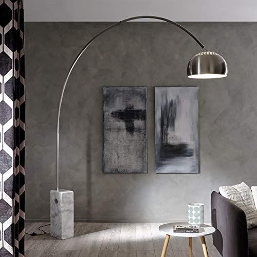 lampada salotto da terra Luumos la lampada con base in marmo