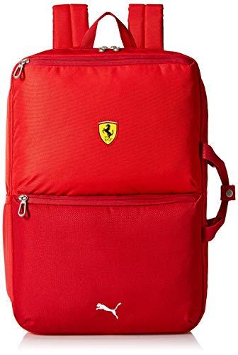 PUMA Scuderia Ferrari Replica Backpack Mochilas, Rojo Brillante, Taille unique para Hombre