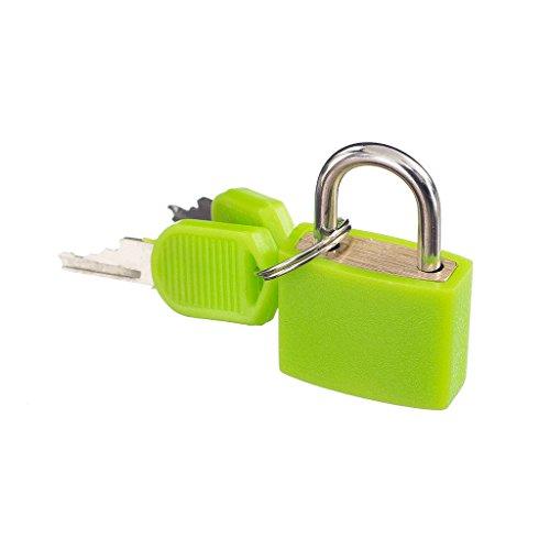 Petit Cadenas Avec deux Clés Pour Bagages Sac Valise Vert