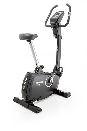 Kettler 07631 – 000 Cyclette Bici Giro P–Colore: Grigio Chiaro/Nero–Il Ideale Home Trainer Bicicletta