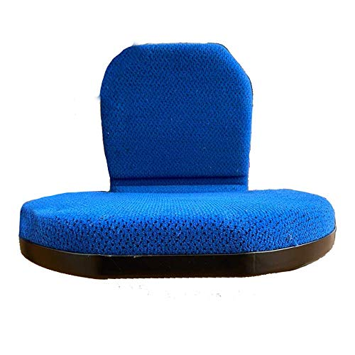 klappbarer Beifahrersitz passend für New Holland Traktoren und Schlepper, Stoff, schwarz-blau