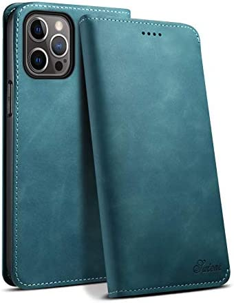 Case for iPhone 12 Pro Max 5G 6 7 2020 PU Leather Green Money Card Fashion Card Holder Shockproof product image