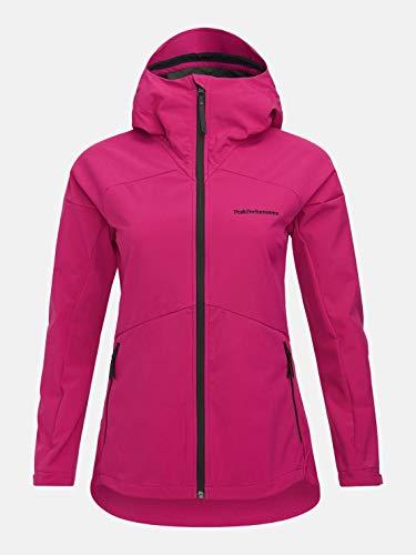 Peak Performance W Adventure Hood Jacket Pink, Damen Softshelljacke, Größe M - Farbe Wander