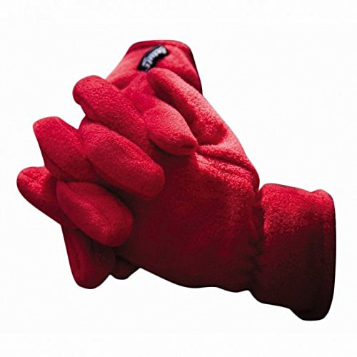 Result Unisex Thermal Fleece Handschuhe (L) (Rot)