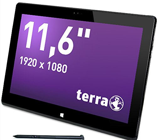 Wortmann AG Terra PAD 1161Pro 256GB 3G 4G Schwarz–Tablets (Tablet Full-Size, IEEE 802.11N, Windows, Tablet, Windows 10Pro, 64-Bit)