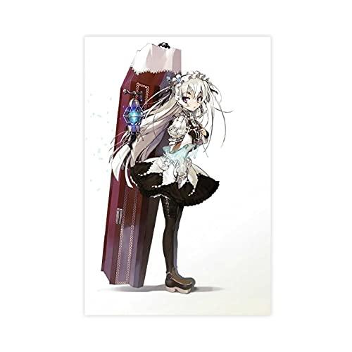 Chaika The Coffin Princess Chaika Trabant Anime 6 Leinwand-Poster, Schlafzimmer, Dekoration, Sport, Landschaft, Büro, Raumdekoration, Geschenk, ungerahmt: 50 x 75 cm