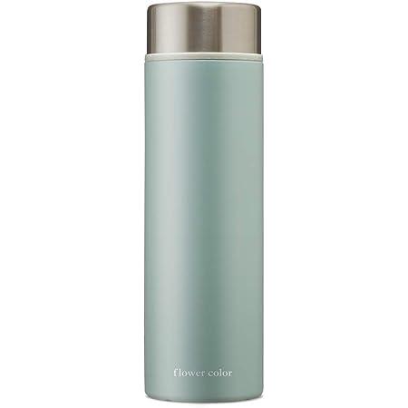 アイリスオーヤマ 水筒 500ml マグボトル 保温 保冷 真空断熱 おしゃれ 軽量 洗いやすい フラワーカラー SBF-S500 ユーカリ