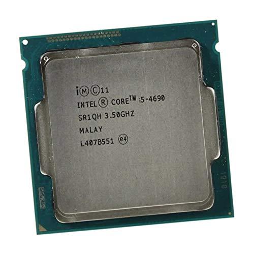 Intel Core i5-4690 - Procesador de CPU (3,5 GHz, 6 MB, SR1QH, 5 GT/s, LGA1150 Quad Core