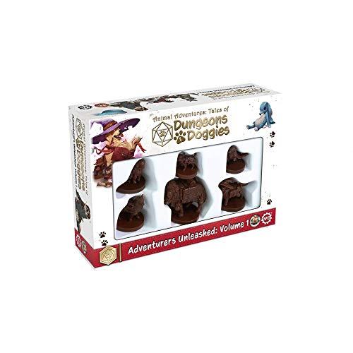 Miniature Animal Adventures: Dungeons and Doggies Box 1