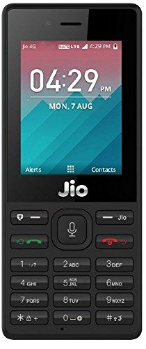 JioPhone (Black)-Security Deposit Amazon deals