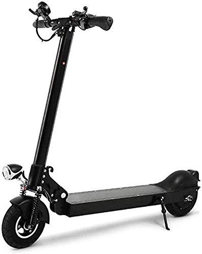 Fácil Plegable para Adultos Scooter Eléctrico, Campo A Través Adulto con La Batería De Iones De Litio, La Movilidad Mejorada Plegable Scooter Motor, Apto para Adultos Y Adolescentes,40km