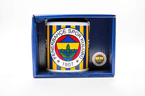Fenerbahce Istanbul Fenerbahçe Istanbul Fan Original Tasse Becher baskili kupa bardak (Variante 2) (Bunt)