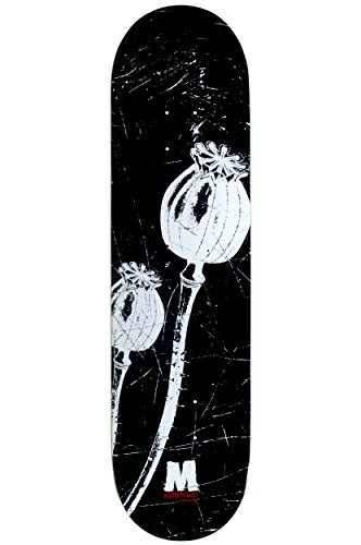 Morphium Skateboards Deck Poppies 8.25 inkl. Grip