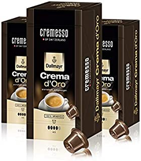 "Cremesso Kaffekapseln Dallmayr Crema d""Oro 16 Stück 3er Pack"