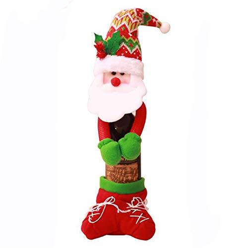 Suéter de Navidad Cubierta de botella de vino, Suéter de botella de vino Conjuntos de botella de vino Decoraciones de fiesta de Navidad