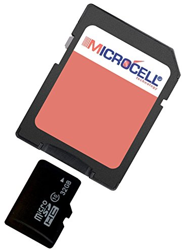 yayago Microcell SD 32GB geheugenkaart / 32 GB Micro SD-kaart voor Tchibo Action Cam Full HD
