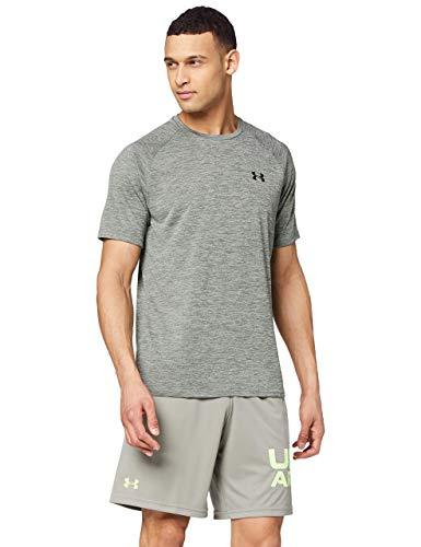 Under Armour Tech 2.0 Shortsleeve Camiseta Transpirable, Ancha Camiseta para Gimnasio de...