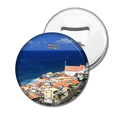 Weekino Portugal Madeira Bier Flaschenöffner Kühlschrank Magnet Metall Souvenir Reise Gift