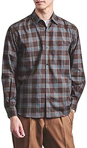 (ユナイテッドアローズ) <UNITED ARROWS> チェック レギュラーカラー シャツ 11112502781 6950 DK.GREEN(69) M